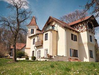 Familienfreundliches Apartment mit Ammerseeblick, Whirlpool und Gartensauna