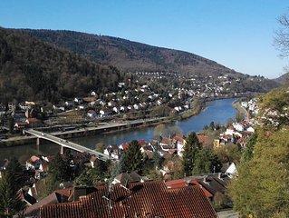 Fur Stadtetour und Erholung: Ferienwohnung in herrlicher Panoramalage!
