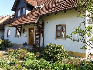 große und ruhige Ferienwohnung im Herzen von Oberfranken