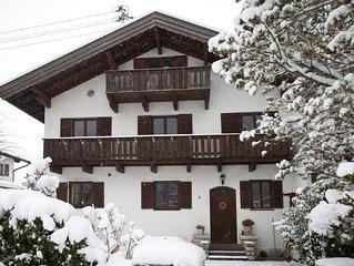 Gemutliche Ferienwohnung an Isar und Karwendel.