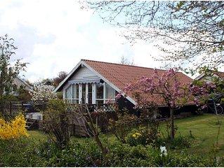 Gemütliches Holzferienhaus in der idyllischen Region des Kleinen Belts