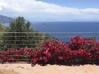 Ferienhaus mit Traumblick uber das Meer im Land der Sirenen - Amalfikuste