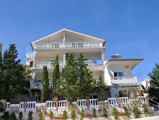 Haus mit Blick auf Paradies Strand