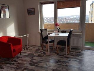 Ferienwohnung mit Balkon in Würzburg,  ganz neu , nahe Uni, 4 km zum Zentrum