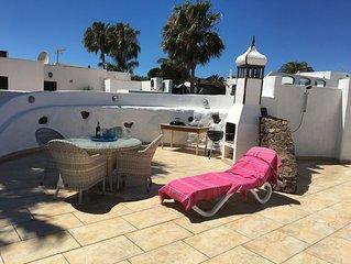 Entspannungsoase auf der schonen Insel Lanzarote
