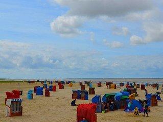 Ferienwohnungen am Deich direkt an der Nordseeküste