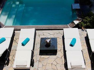 Côte d'Azur - Wunderschöne Villa, perfekte Lage, 800m vom Sandstrand.