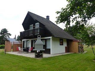 Schönes Ferienhaus am Waldrand Ferienpark Silbersee: Sky Kinderroller Fahrräder