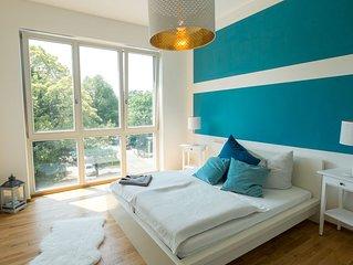 3-Zimmer Luxusapartment im beliebten Bachviertel