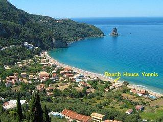 Strandhäuser Yannis am Agios Gordios