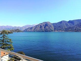 Ferienwohnung mit  Terrasse und Seeblick