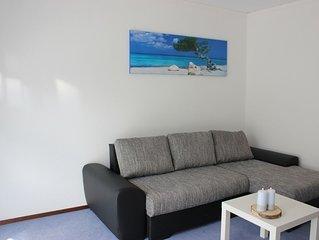 Familienfreundliche Ferienwohnung mit Sonnenterasse auf 45 qm mit WLAN