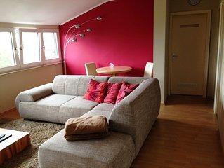 Coole Wohnung mit Weitblick