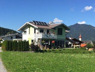 Gemutliches Apartment mit Blick auf die Berge im Sonnendorf Wangle
