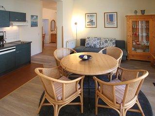 Appartement 215 - 100m zum Strand - Balkon - Schwimmbad + Sauna - WLAN