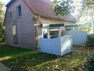Moderne Doppelhaushälfte an der Nordsee für bis zu 4 Personen