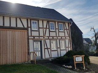 Ferienhaus Steffens - historisches Fachwerkhaus in der Nähe der Geierlay