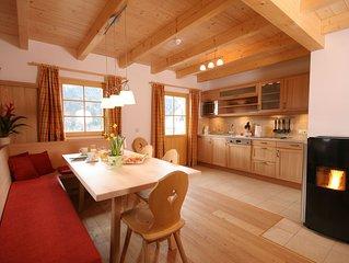 Hütte, an der Piste, Privat-Sauna, familienfreundlich, free WiFi, bis zu 8 Pers