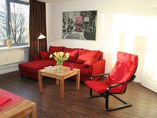 Modern und hochwertig eingerichtetes 2-Zimmer Apartment - zentrumsnah