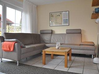 Urlaub mit der Familie? - Ferienhaus Ahoi in Carolinensiel-Harlesiel mit WLAN