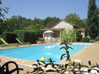 Maison de campagne  avec piscine privee