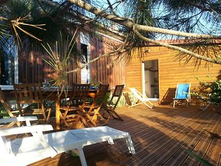 Location villa au Cap-Ferret