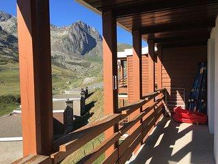 Appartement Pyrenees La Mongie Tourmalet Plein sud face pistes