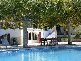 Villa Riviera au centre de Cassis,piscine privee,proche de la plage, AC,bellevue