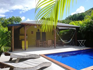 Kaz a Coco, Villa Jaune 2 ch, piscine privée