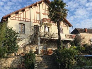 La maison du Dragon - Villa 1930 -Entre Sarlat et Rocamadour - Souillac/Dordogne