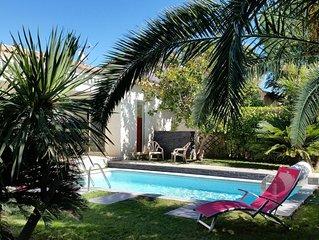 Maison avec piscine de plain pied à Lattes proche de la mer
