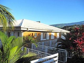 Appartement classé 2 étoiles dans un écrin de verdure proche mer et montagne