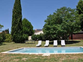 Mas en Drome Provencale, 6 p, 4 ch, piscine privative