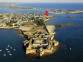 Appartement 2/4 pers face à la mer Port-Louis intramuros - Bretagne sud