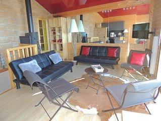 Appartement RENARD dans chalet renove avec vue sur le lac de Matemale 9 pers