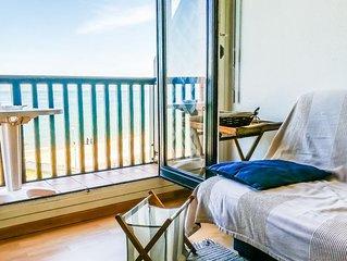 Appartement front de mer - 4 personnes - 2 chambres - 50m de la plage