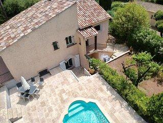 Villa Piscine privative à  Fréjus/Saint-Raphaël pouvant accueillir 6 personnes.
