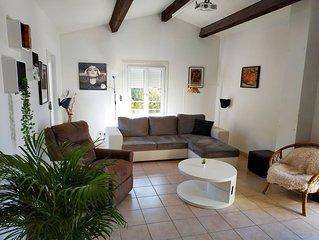 Haut de villa + cinéma 3D + Terrasse 50m2