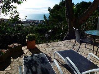 Sète, F2 magnifique vue mer - grande terrasse