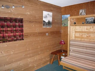 appartement au centre village a 20 metres des telecabines et des ecoles de ski