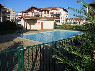 Charmant T2 avec piscine Ciboure/ saint jean de Luz