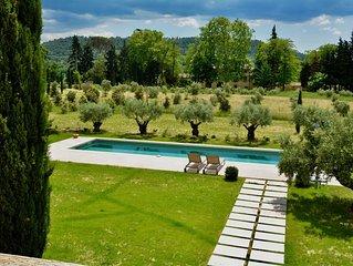 Mas Bastide 17eme  - ancien pigeonnier  - 4 chambres, piscine