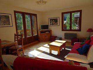 Appartement ensoleillé, spacieux ( 75 m2) , 3 chambres, Tignes Brevières
