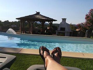 Villa provençale pour 6  personnes + piscine