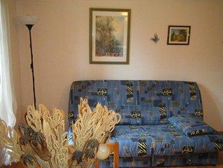 appartement  T2  en bas de villa calme,  parking , terrasse  bormes les mimosa
