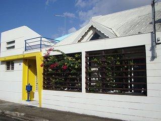 Agréable maison à Port-louis 2 à 8 personnes