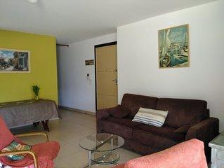 Appartement neuf (2011) avec grande terrasse et jardin privatif