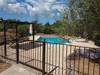 Belle villa familiale, idéale pour le repos et la tranquillité.