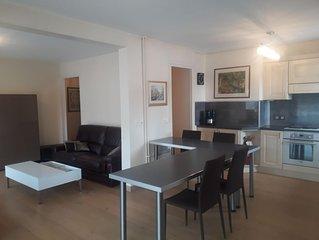 Appartement 60 m2  lumineux hypercentre Aix les Bains refait à neuf