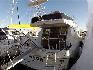 Location à quai bateau de 12 mètres